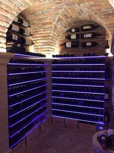 Weinkeller-Beleuchtung